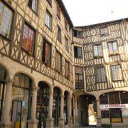 Cour du Temple à Limoges