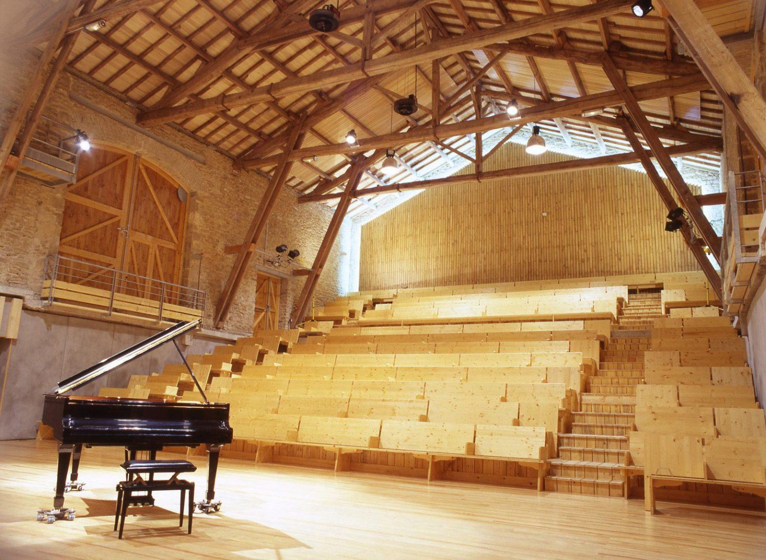 Salle de la ferme de Villefavard © Crédit photos Georges Fessy