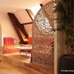 """Petit salon """"Oriental"""" vue d'ensemble - à l""""étage - Gîte Moulin - www.moulindescombes.com"""