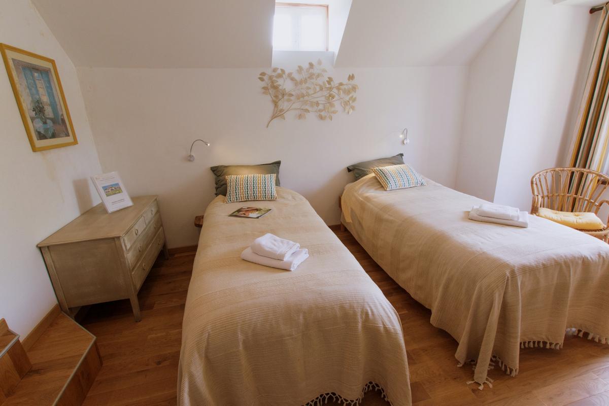 Chambre Calendula version 2 lits à l'étage